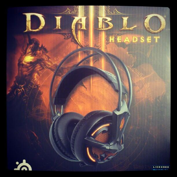Mac de Diablo3 ヘッドセット雑感